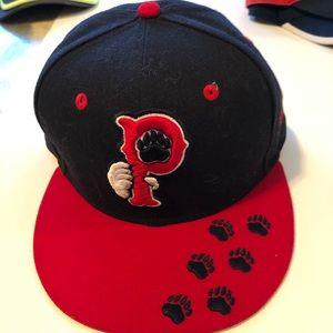 NEW era major  baseball hat 7 3/8 59 Fifty Big P